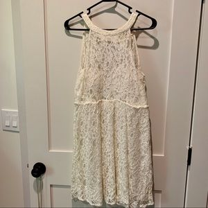 Franceskas Lace Mini Dress